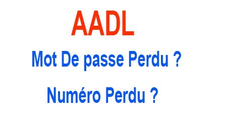 AADL-mot-de-passe-numéro