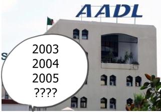 Programme AADL 2001-2002 à constantine La grande désillusion