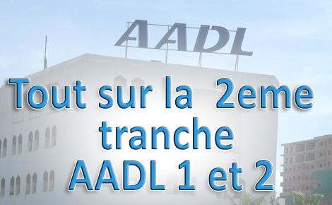 2eme tranche AADL1 et 2