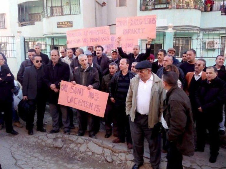 Ils dénoncent le retard des travaux de VRD: Les souscripteurs AADL 2 du pôle urbain de Misserghine, de nouveau dans la rue