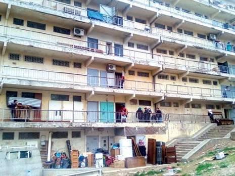 Immeubles menaçant ruine à la cité Benboulaïd Un relogement qui a fait des mécontents