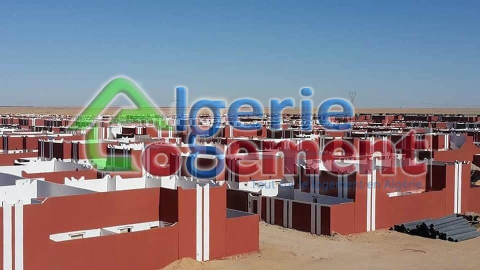 Site AADL Adrar : 430 Logements de la wilaya d'adrar